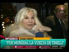 Susana Giménez - Nota Implacables - (04/06/16).