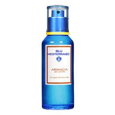 Blu Mediterraneo - Arancia Di Capri    Forever glamorous, fashionable, and cosmopolitan, the island of Capri is the very essence of relaxation. Arancia di Capri is based on the soothing properties of perfectly blended oils of orange, lemon, grapefruit, and tangerine.  Yum!!