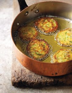 Persian potato patties with garlic chives recipe from Saraban by Greg Malouf | Cooked