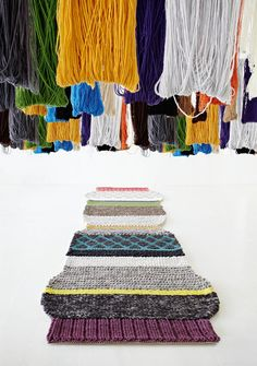 imagen mangas largas2 Mangas Rugs & Pouffs Designed by Patricia Urquiola for GAN Rugs