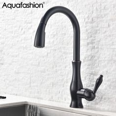 Black Faucet Tap Cozinha Hot and Cold Faucet for Kitchen Sink 360 Degree Swivle Spout Black Tap-in Kitchen Faucets from Home Improvement on Aliexpress.com | Alibaba Group