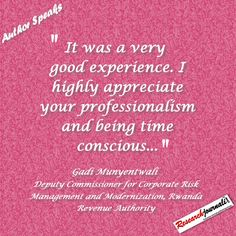 Author Testimonials Corporate Risk Management, Appreciate You, Appreciation, Author, Personalized Items, Writers
