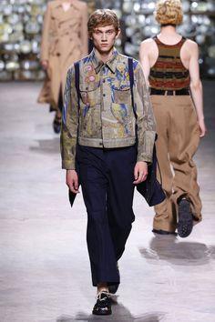 Dries Van Noten | Menswear - Spring 2017 | Look 33