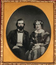 Ambrotype Couple Holding Hands Tinted 1 6 Plate Amber Glass Full Case | eBay