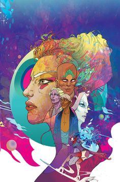 Collection of the covers for ODY-C,  my Image comics comic book series with writer Matt Fraction