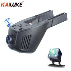 37.32$  Buy now - http://aliltb.shopchina.info/1/go.php?t=32786464457 - KAILUKE Universal Mini Car DVR Wifi Camera Car DVRS Video Recorder Monitor Dash Cam Black Box Camcorder Full HD 1080P Dual Lens 37.32$ #magazineonlinebeautiful