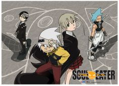 Static Fluff Anime -Bring you this Awesome Soul Eater Anime Fabric Poster  Check us our at (http://www.staticfluff.com/posters/)