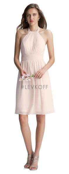 #LEVKOFF Bridesmaids style 7000 *Available at http://www.tie-the-knot-bridal.com/ Green Bay, WI.  Call us at 920-662-1920 to schedule an appointment.