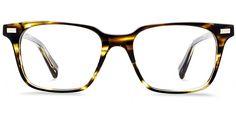 Baxter Striped Sassafras Eyeglasses