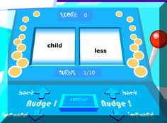 WORD STUDY~ 10+ online games and interactive games that provide skill practice.with prefixes, suffixes, root words, and more