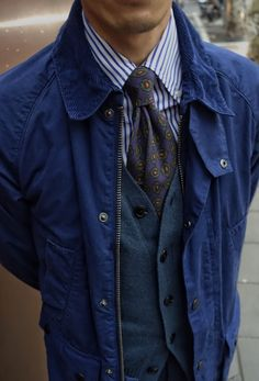 Men's Vest Inspiration #1 | MenStyle1- Men's Style Blog