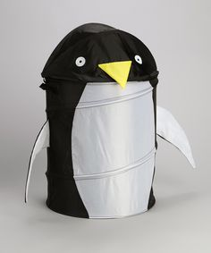 Look at this Penguin Round Hamper on #zulily today!
