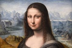 """""""La Joconde"""" du Musée du Prado, """"soeur jumelle"""" du chef d'oeuvre de Léonard de Vinci, exposée au Musée du Louvre, le 27 mars 2012"""