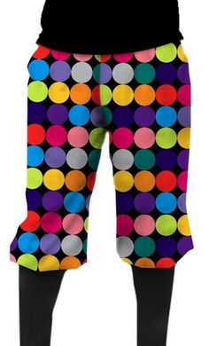 Loudmouth Golf Mens Golf Knickers - Disco Balls Black.  Buy it @ ReadyGolf.com