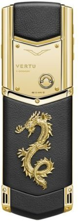 Vertu Gold Dragon Phone