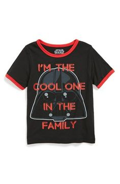 Mighty Fine 'I'm the Cool One' STAR WARS T-Shirt (Toddler Boys) available at #Nordstrom