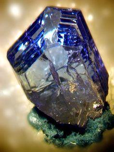 Zoisite: a wonderful stone for the Third Eye Chakra. Www.arielhubbard.com