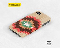 Tribal iPhone 5 Case Tribal iPhone Case Wood iPhone 5 by caselike, $22.00