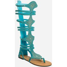 Ashley Stewart Studded Gladiator Sandal - Wide Calf, Wide Width ($55) ❤ liked on Polyvore featuring shoes, sandals, summer shoes, wide flat shoes, wide sandals, flat sandals and wide shoes
