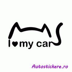 I love my car 2 Stickers, Love, Car, Instagram, Amor, Automobile, Autos, Cars, Decals