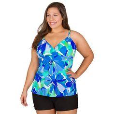 602aeaec917b1 38 Best Plus Size Floral Swimwear images   Plus size swimsuits, Plus ...