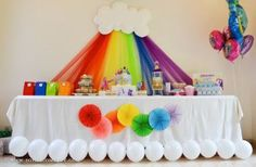 festa-infantil-arco-iris-mesa-nuvem
