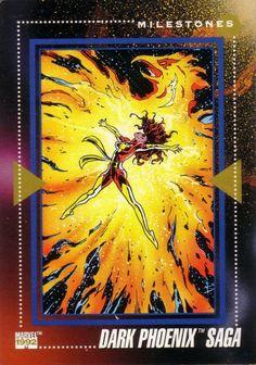 Dark Phoenix Saga Marvel Universe Series 3 #195