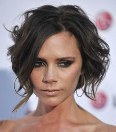 Short Hair for Prom and Homecoming: Victoria Beckham