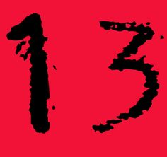 #thirteen #13 #trece #tredici #lucky13 #luckythirteen