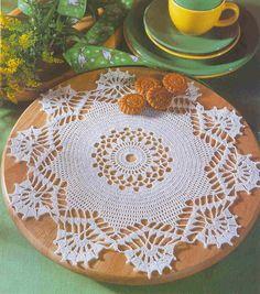 VARIOUS DOILIES - Crochet Knitting Handicraft