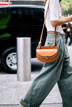 Slouchy pants and chloe bag