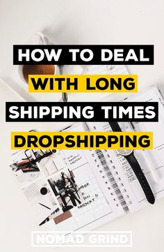 How To Deal With Long Shipping Times Shopify Dropshipping Aliexpress - Shopify Website Builder - Build the Shopify Ecommerce site within 30 minutes. - How To Deal With Long Shipping Times Dropshipping Aliexpress Online Business Opportunities, Business Tips, Business Quotes, Creative Business, Slow Cooker, Dropshipping Suppliers, Drop Shipping Business, Thing 1, Starting Your Own Business