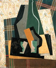 'Still Life', 1916 by Gino Severini (1883-1966, Italy)