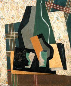 'Still Life', 1916 by Gino Severini (1883-1966, Italy)
