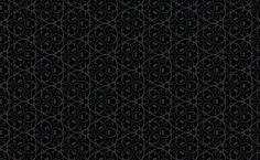 Halloween Pattern - Ornate Black