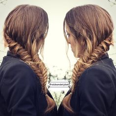 katnissbraid inspired by the hunger games by Braidsandstyles12   hunger games, katniss , katniss braid, french fishtail , fishtail braid