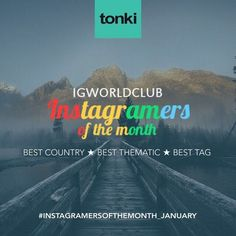 Present  I N S T A G R A M E R S  O F  T H E  M O N T H  J A N N U A R Y  330 Igworldclub Country Account  R U L E S  Put the Tag  #ig_countryaward #instagramersofthemonth_january  Follow @igworldclub @tonki_design @igbiella  New photos of the month  Unlimited entries  Monday February 1 Igworldclub will choose the Best 4 photos for each category  Who will take more like win the contest.  The categories are: Best Country Award Best Thematic Best Tag  You have time to tag your photos until…