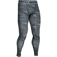 The Under Armour HeatGear Armour Compression Leggings get a all over print  update to make your c38e11cdf78