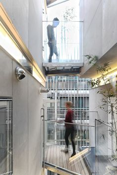 Image 15 of 31 from gallery of Songpa Micro Housing / SsD. Courtesy of SsD Social Housing Architecture, Architecture Student, Space Architecture, Contemporary Architecture, Residential Architecture, Floor Area Ratio, Micro Apartment, Student House, Micro House