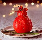 Recette religieuse de tomates Entree Festive, Jamie Oliver, Holidays And Events, Caviar, Starters, Entrees, Watermelon, Cherry, Strawberry