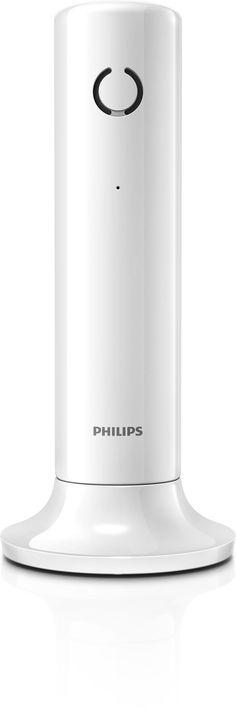 Philips M3301W/23 Telefono Cordless Linea, Bianco