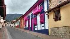 La Candelaria. Bogotá - Colombia Four Square, Architecture, City, Places, Bogota Colombia, Spaces, Flats, Nature, Architecture Illustrations