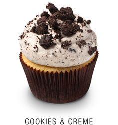 Coffee, Cookie & Creme Cupcakes - One Dozen Georgetown Cupcakes, Mini Cakes, Cupcake Cakes, Oreo Cupcakes, Gourmet Cupcakes, Flower Cupcakes, Strawberry Cupcakes, Easter Cupcakes, Velvet Cupcakes