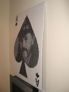 Illusion Knit Ace of Spades