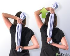 Estiramiento anterior del hombro