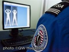"""Who knew!? 3 Simple words """"I opt out."""" TSA has chosen to implement a way to deter terrorists and provide a level of security for travelers through the use of the whole body backscatter scanner."""