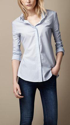 Burberry Brit Woven Cotton Shirt