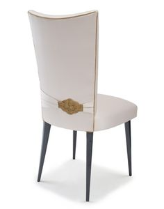 Gold Knot Stiletto Chair