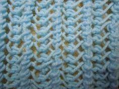 Lacy Openwork Stitch (knitting pattern)
