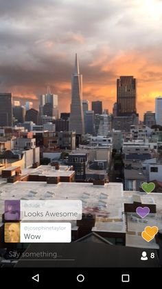 Periscope: captura de pantalla